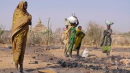 Bürgerkriegsflüchtlinge im Sudan