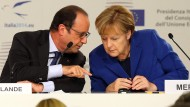 Merkel mahnt schnellere Vergabe der Hilfsgelder an