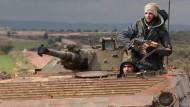 Türkei und Amerika wollen syrische Rebellen ausbilden