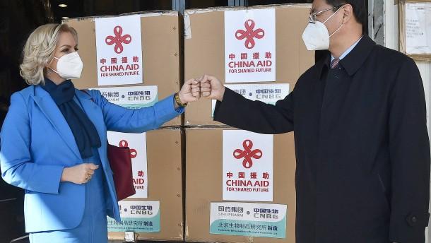 Die Angst, China könnte einen Hafen als Pfand verlangen
