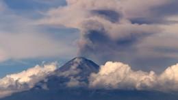 """Der """"Popocatépetl"""" ist wieder aktiv"""