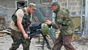 Blutige Kämpfe erschüttern Ostukraine