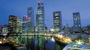 Erleben Sie Singapur und Bali