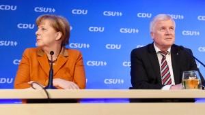 Merkel und Seehofer beenden ihr Krisentreffen