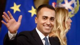 Luigi Di Maio wird Außenminister Italiens