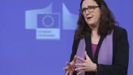 EU-Kommissarin Cecilia Malmström.