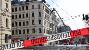 Todesopfer nach Brandstiftung in Leipzig gefunden