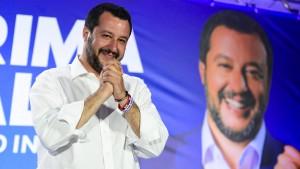 Salvini verbucht Rekordergebnis in Italien