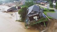 Sechs Tote nach Überschwemmungen in Japan