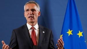 Nato sehnt Wechsel in Washington herbei