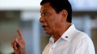 Duterte will Verteidigungspakt mit Amerika beenden