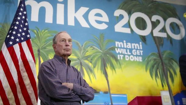 Bloomberg steigt aus Kandidatenrennen aus – und unterstützt Biden
