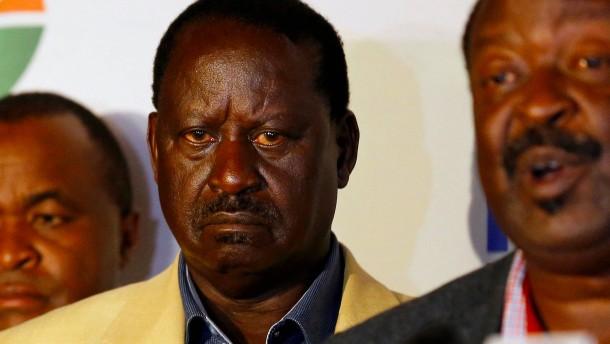 Nervenkrieg in Nairobi