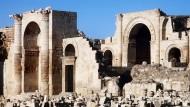 IS setzt Zerstörung antiker Stätten fort