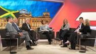 Sandra Maischberger und ihre Gäste fragen sich, wie sehr Deutschland gespalten ist.