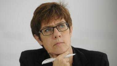 Saarlands Ministerpräsidentin Annegret Kramp-Karrenbauer (CDU)