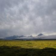 Ruhe und Abgeschiedenheit: Mount Teton nahe der Jackson Lodge.