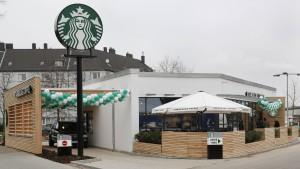 Starbucks macht jetzt auch Drive-In