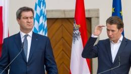 Söder will Merkel beim Wahlkampf in Bayern nicht dabeihaben