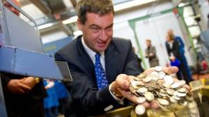 Söder will Bundesländer unter Finanzaufsicht stellen