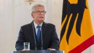 Gauck verzichtet auf zweite Amtszeit