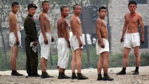 Nordkoreas Wirtschaft bricht ein