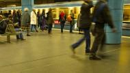 U-Bahnhof Sendlinger Tor: In der Linie U1 kam es zur Auseinandersetzung. Die älteren Wagon-Modelle sind nicht mit Kameras ausgestattet.
