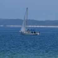 Segelboot auf der Ostsee bei Travemünde (Symbolbild)