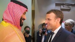 Macron vermittelt in Saudi-Arabien