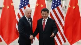 Biden und Xi sprechen über ihre Spannungen