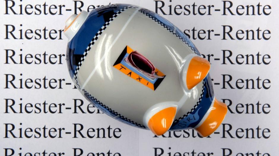 Die Riester-Rente ist bei den Deutschen unbeliebt.