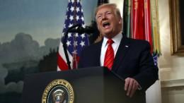 Trump lässt Bagdadi auf See beisetzen