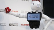 Kaffee-Klatsch mit Roboter