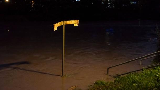 In Hildesheim drohen Überschwemmungen