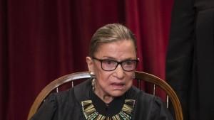 Ruth Bader Ginsburg an Krebs erkrankt