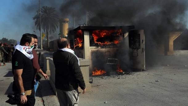Zwei Raketen treffen Bagdads Hochsicherheitszone