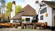 """""""Ye Olde Fighting Cock"""" in St. Albans nördlich von London gilt als ältester Pub der Insel."""