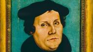 Martin Luther, Porträt von Lukas Cranach dem Älteren (1528)