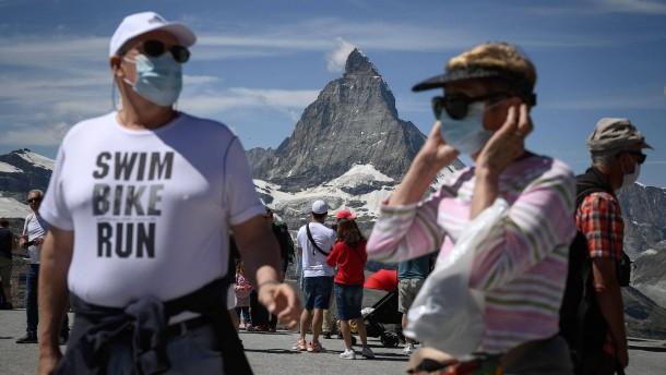 Zähneklappern in den Schweizer Bergen