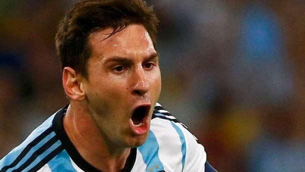 Messis Geniestreich bringt Argentinien den Sieg