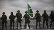 Auch die brasilianische Marine soll während der Olympischen Spiele für Sicherheit sorgen.