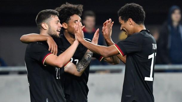 Deutschlands U21 lässt es leicht aussehen