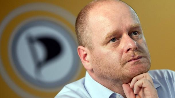 Piraten-Chef Schlömer kündigt Rücktritt an