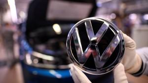 Für Volkswagen läuft's in China schlechter
