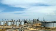Die zweitgrößte Erdölraffinerie im venezolanischen Paraguaná.