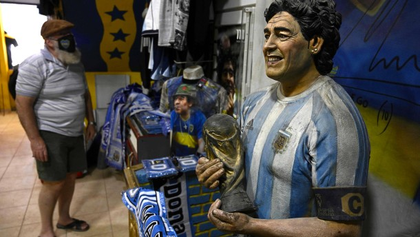 Was passiert mit Maradonas Millionen?