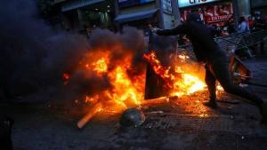 Weitere Unruhen in Santiago de Chile