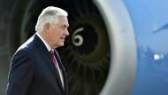 Schwierige Mission für Tillerson