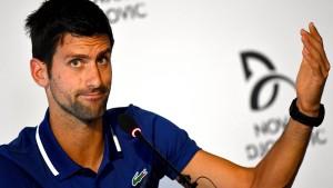 Djokovic beendet sein Tennisjahr
