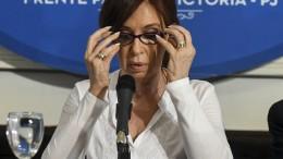 Haftbefehl gegen ehemalige Präsidentin Kirchner